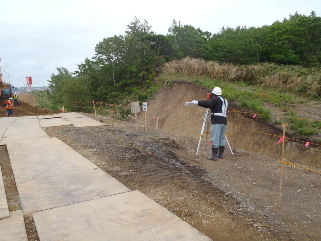 緑・富岡環状通街路整備(道路改良)その2工事 7月10日 続きその1