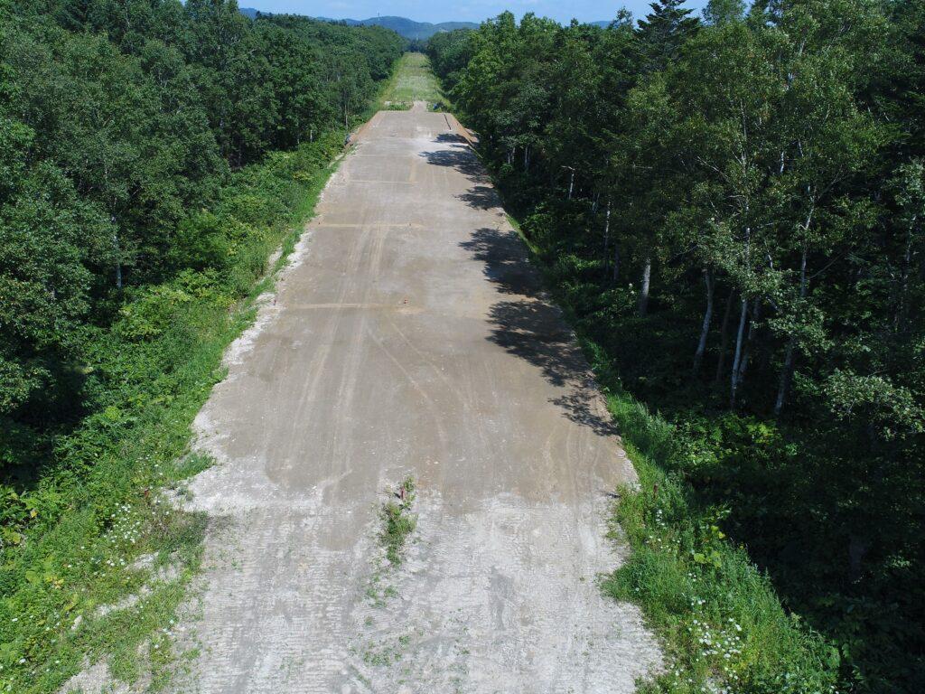 一般国道40号幌延町幌延南改良工事 9月7日